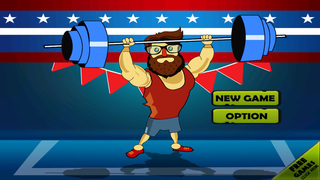` Hipster Weight Lifting: Tiny Meat Head Battle Competition Games screenshot 1