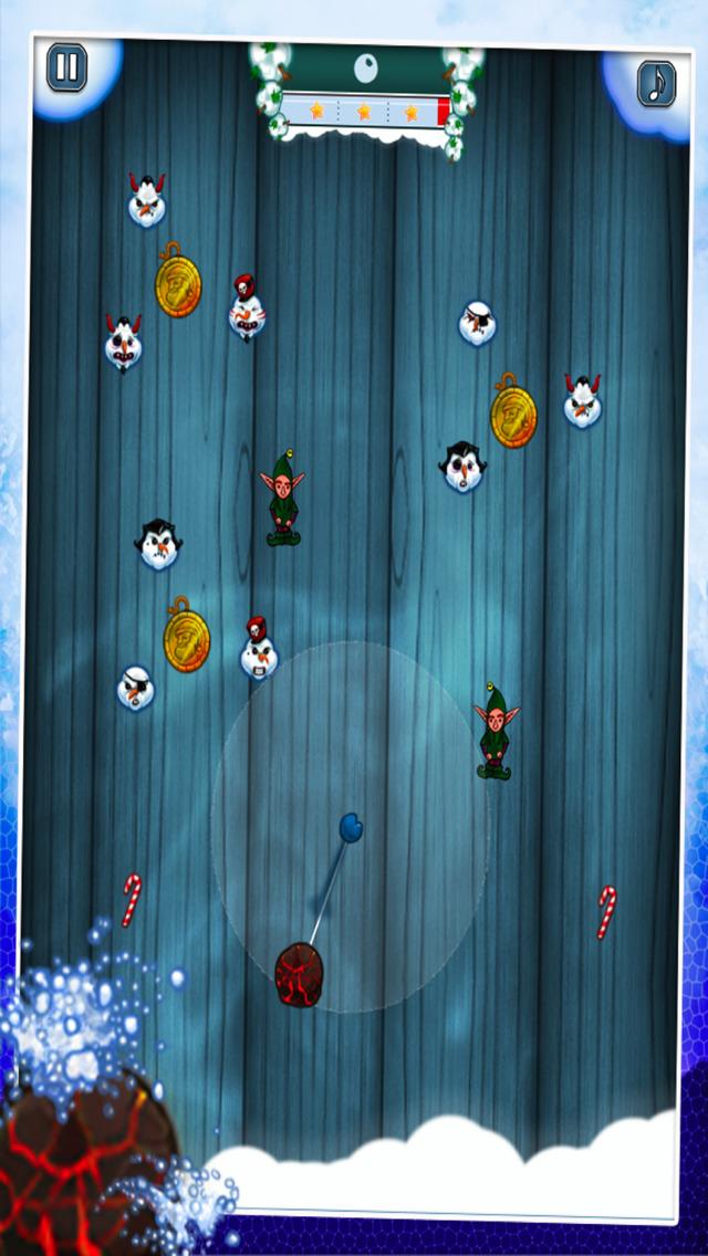 Snowman Shot - Free Fire Ball Shooter Arcade Game screenshot 1