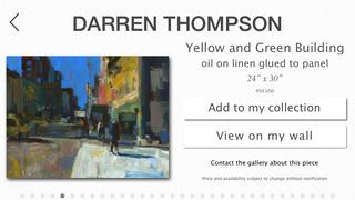 Darren Thompson Fine Art screenshot #2