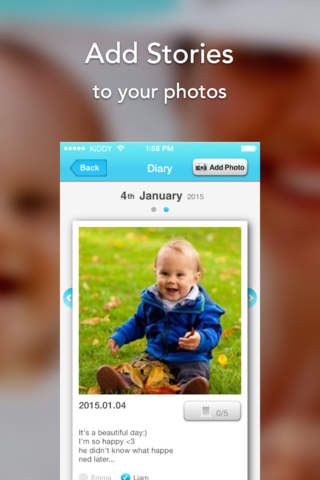 KiDDY - dairy, journal and sharing for family - náhled