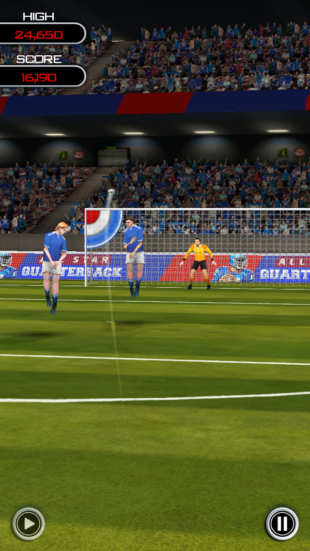 Flick Soccer! screenshot 4