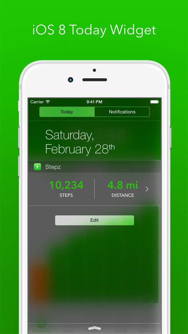 Stepz - Step Counter & Tracker screenshot 5