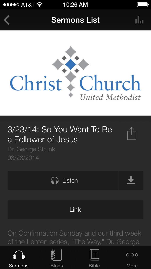 CCUM: Christ Church Louisville screenshot 3