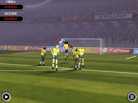 Flick Soccer! HD screenshot 2