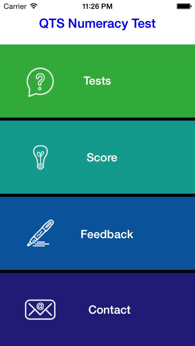 QTS Numeracy  skills Test screenshot 1