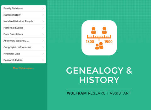 Wolfram Genealogy & History Research Assistant screenshot 6