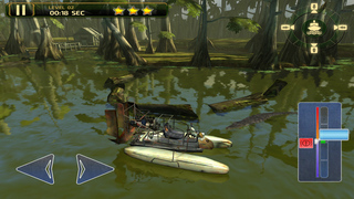 3D Swamp Parking - Real Speed Boat Simulator Driving & Racing Games screenshot 2