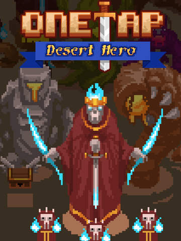 One Tap Desert Hero screenshot 6