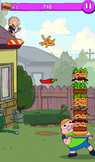 Blamburger – Clarence Fun Burger Building Arcade screenshot 3