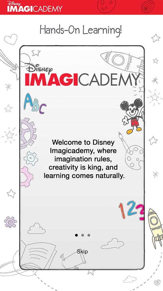 Disney Imagicademy Parents screenshot 1