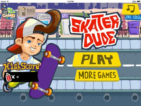 Skater Dude - Racers Game screenshot 5
