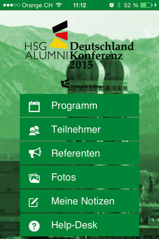 HSG Alumni Deutschland Konferenz - náhled