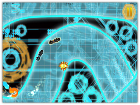Bike Racing : Smash Neon Cops In Impossible Race screenshot 7