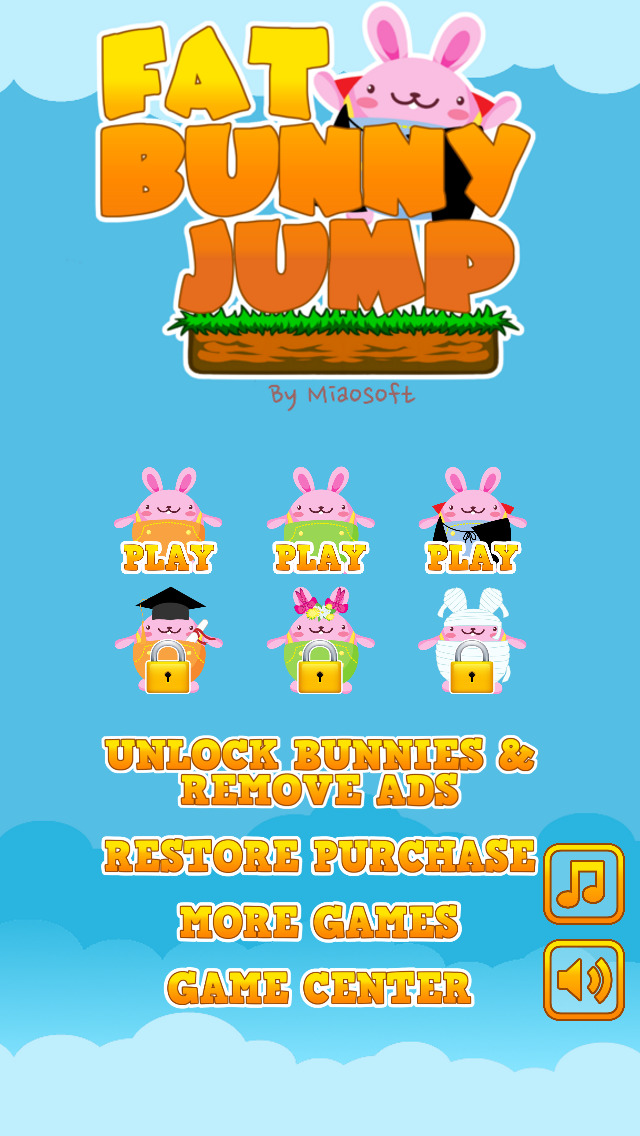 Fat Bunny Jump screenshot 4