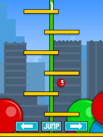 Fancy Stairs vs Red Ball FREE screenshot 6