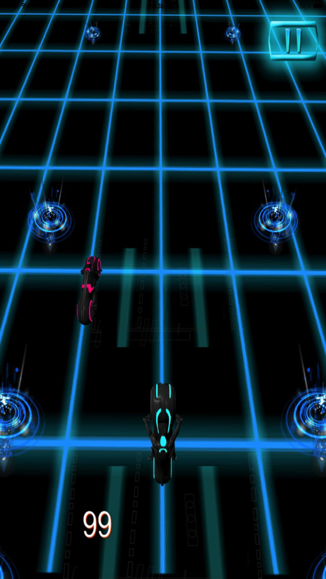 Motorcycle Futuristic Neon : Career End Xtreme screenshot 3