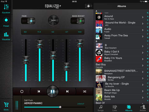 Equalizer+ pro: music player & bass booster screenshot 6