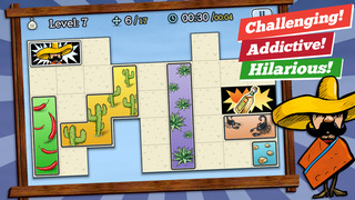 Find a Way, José! - Train your brain with puzzles screenshot 2