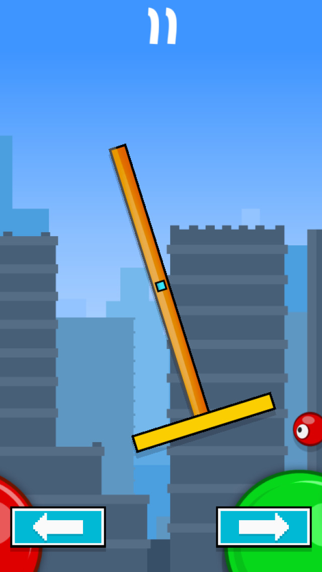 Flick & Swing vs Red Ball FREE screenshot 3