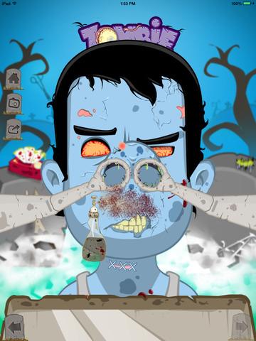 Zombie Nose Surgery - Lite screenshot 6