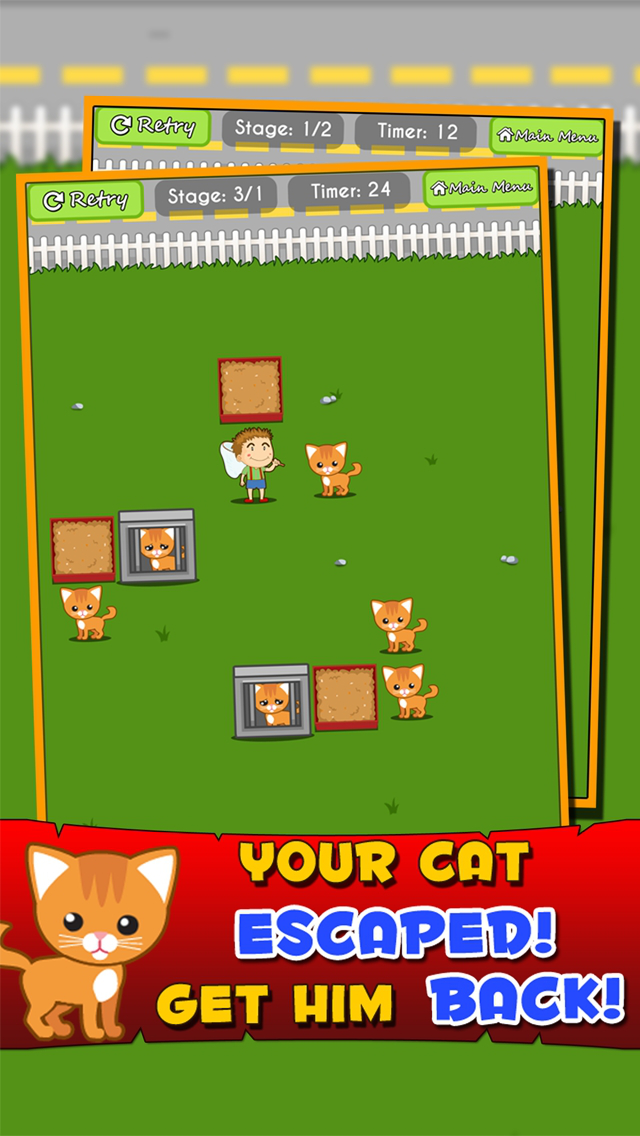 Kitten Escape Game screenshot 1