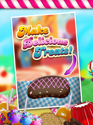 """ A Circus Food Stand Candy Creator HD – Free Maker Game screenshot 5"