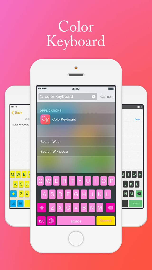 iphone keyboard app app shopper color keyboard extension utilities 11976