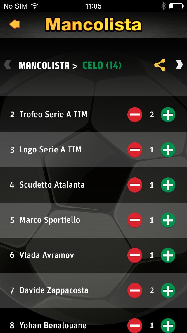 CalcioRegali screenshot #2