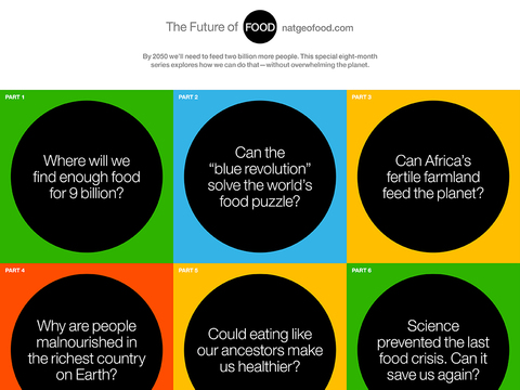 The Future of Food presented by National Geographic screenshot 2