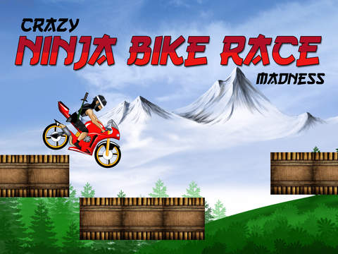 Crazy Ninja Bike Race Madness - best road racing arcade game screenshot 4