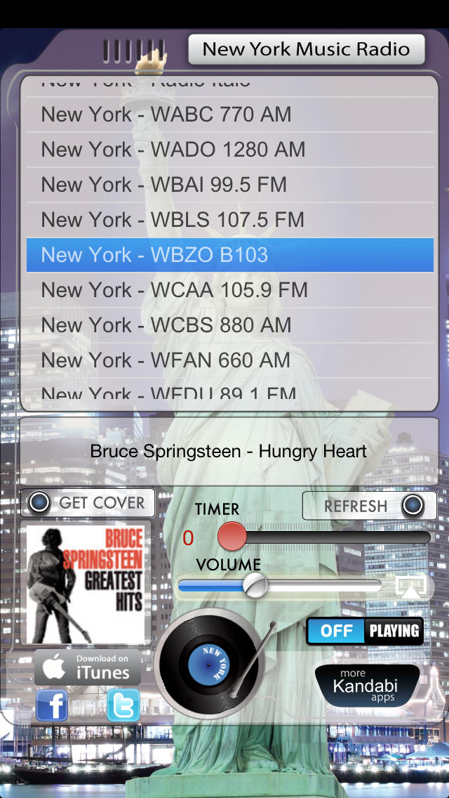 New York Music Radio screenshot 1