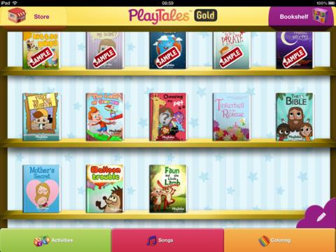 PlayTales Gold! Kids' Books screenshot 8
