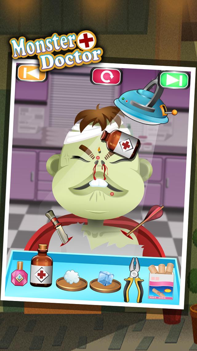 Monster Doctor - kids games screenshot 3