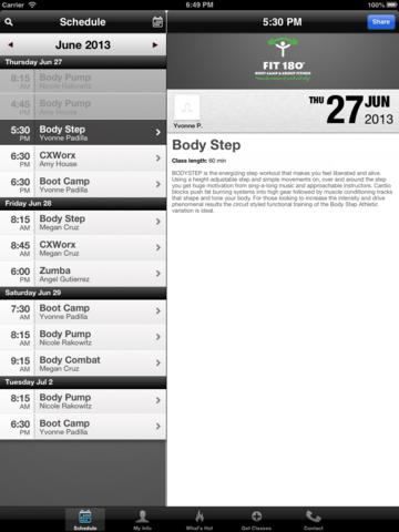 FIT 180° BOOT CAMP & GROUP FITNESS screenshot #2