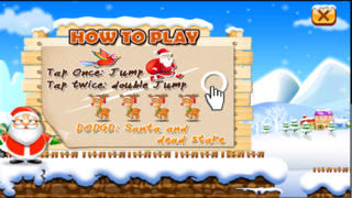 Santa Run Free - Jolly Runner on Xmas screenshot 2