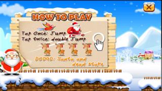 Santa Run Free - Jolly Runner on Xmas screenshot 2