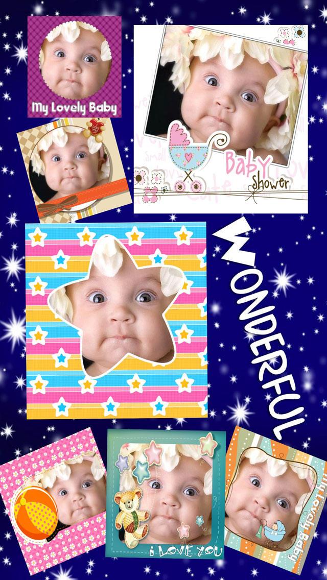 Amazing Baby Photo Frames screenshot 2