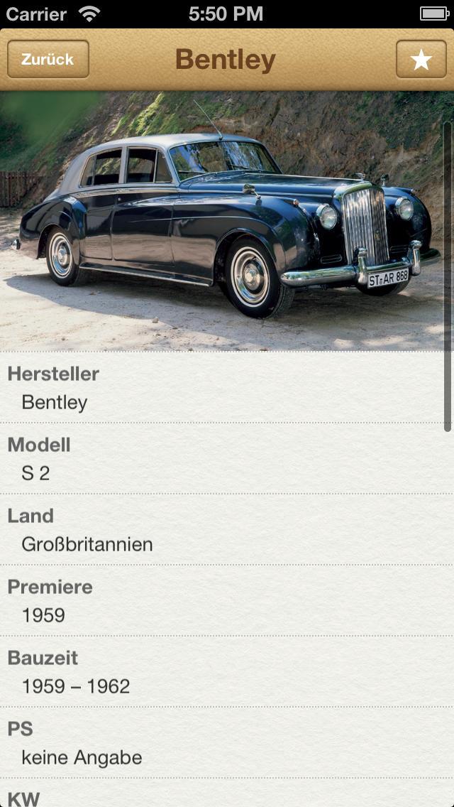 1000 Automobile aus aller Welt screenshot 2