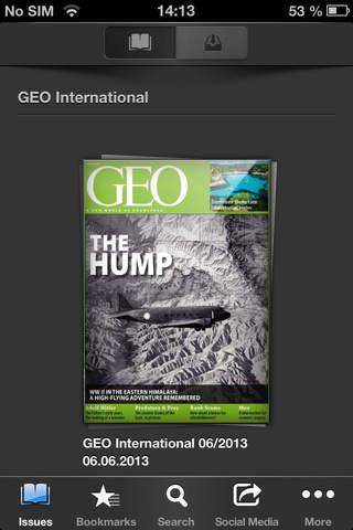 GEO eMagazine - náhled