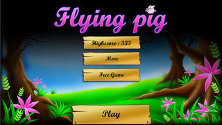 Kill the Flying Pigs Pro - Funny shooting and hunting arcades game screenshot 3