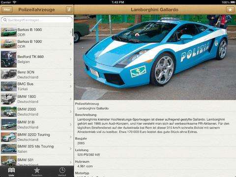 1000 Polizeifahrzeuge aus aller Welt screenshot 6