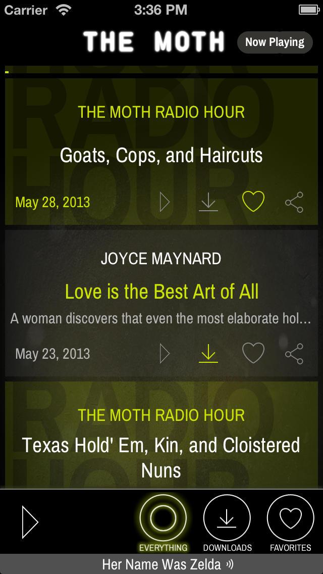 The Moth screenshot #1