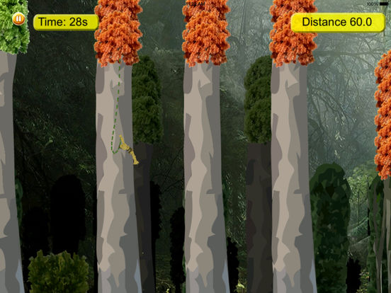 Amazon Gorilla Warrior In Rope - Amazing Jump and Fly Game screenshot 8