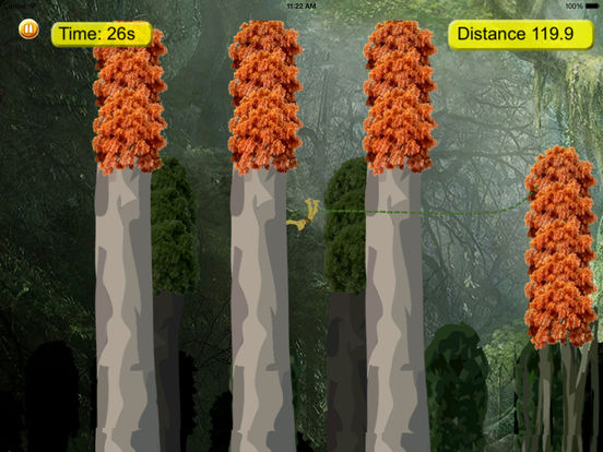 Amazon Gorilla Warrior In Rope Pro - Amazing Game screenshot 8