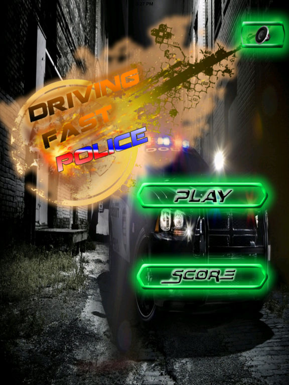 A Driving Fast Police - Racing Hovercar Game screenshot 6