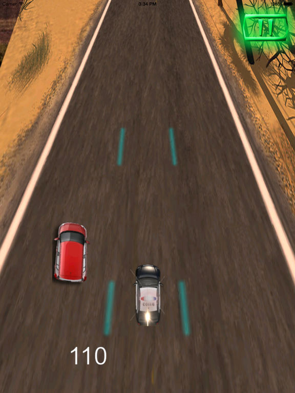 A Driving Fast Police Pro - Racing Hovercar Game screenshot 9