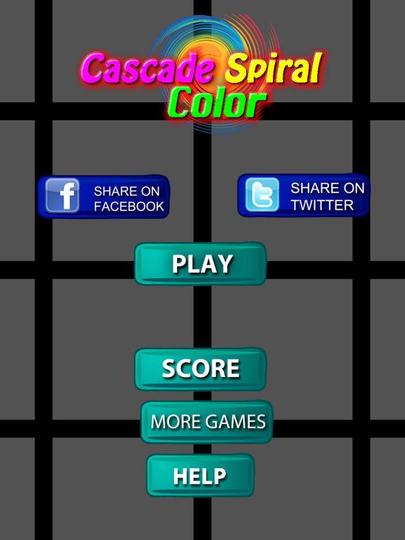 Cascade Spiral Color - A Rainbow Adventure screenshot 6