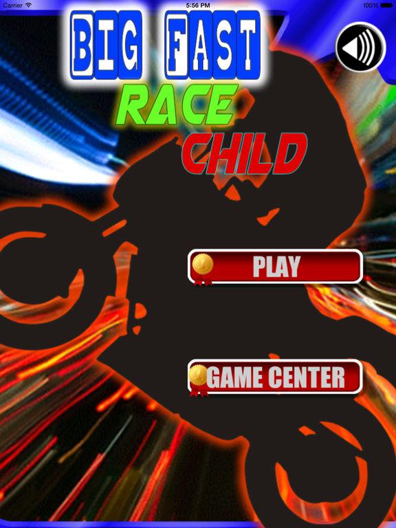 Big Fast Race Child PRO - Crazy Game Road Bike screenshot 6