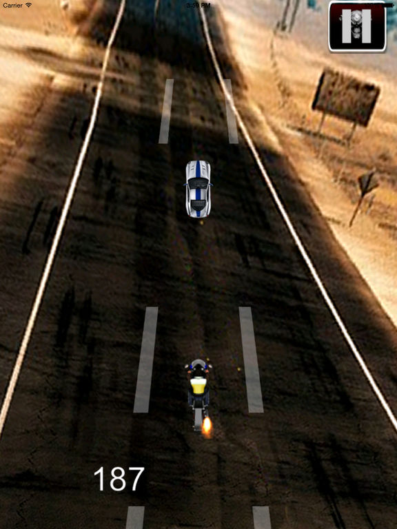 A Speed Motorcycle Chopper - Awesome Real Race screenshot 7