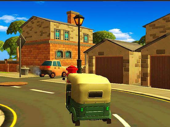 City Tuk Tuk Rickshaw : free simulation game screenshot 6